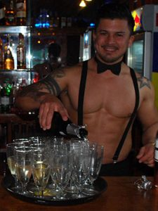 Javi butler in the buff waiter
