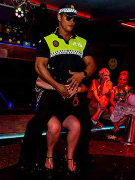Black Male Stripper Benidorm